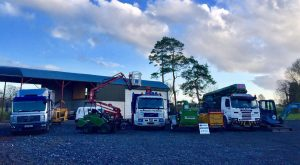 W.Monaghan's Tree services professional equipment