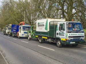 W.Monaghan's Tree Services Machinery