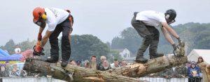 Irish Lumberjacks Show by W.Monaghan's Tree Services